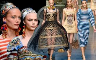 MFW лято 2013: Сицилианската приказка на Dolce & Gabbana