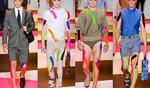 Мъжка мода пролет-лято 2014: Колорит, спорт, пънк ... и още от Versace