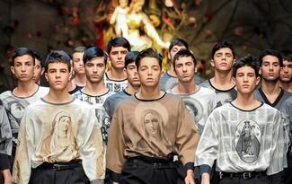 Мъжка мода есен-зима 2013/14: Dolce & Gabbana