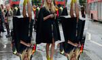 Street style вдъхновение: Попи Делевин от Седмицата на модата в Лондон