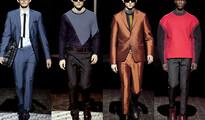 Мъжка мода есен-зима 2013/13, Kenzo: Поглед към небето