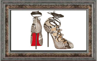 Piece of art: Christian Louboutin