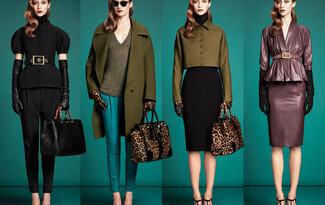 Gucci pre-fall 2013: Цвят и форма