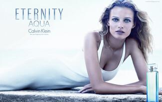 Новият аромат Eternity Aqua for Women на Calvin Klein