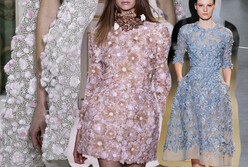 Couture Trend for Daily Use: Embossed Flowers